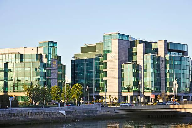 IFSC, the International Financial Services Centre, Dublin, Ireland