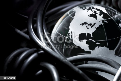 Concept for Global Internet with North American Continents. Click to see more!