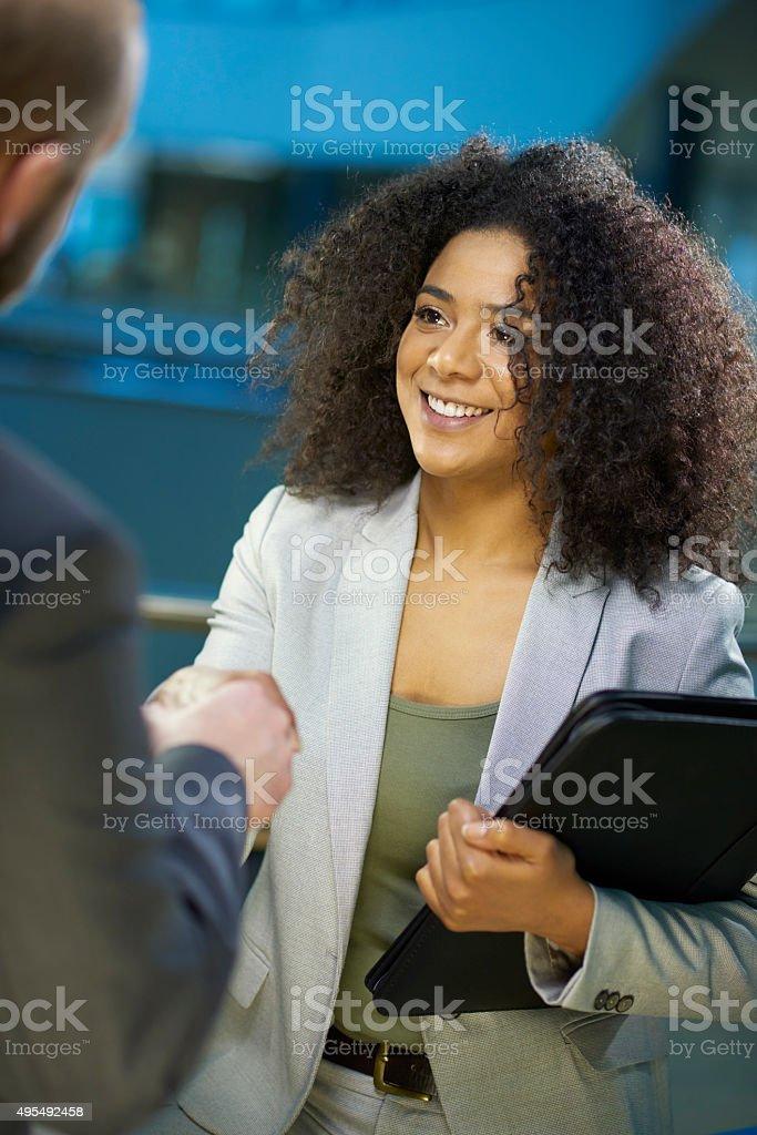 Das interview – Foto