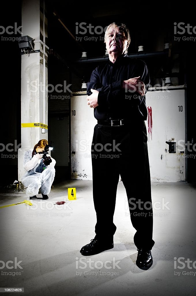 The Investigators stock photo