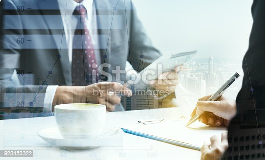 istock The investment of two traders in the stock market. 923453322