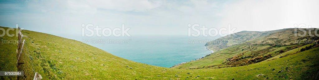 The Irish Coastline between Belfast and Derry royalty-free stock photo