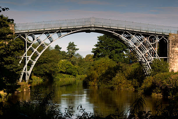 The Iron Bridge stock photo