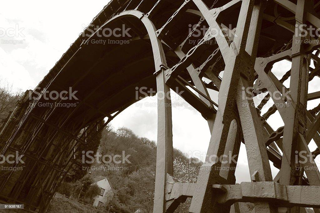 The Ironbridge stock photo