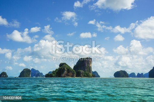 istock The island is surrounded by beautiful sea 1044331804