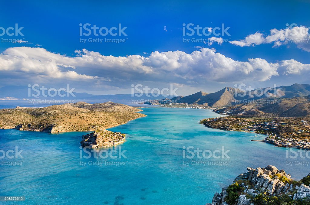 The island of lived dead stock photo
