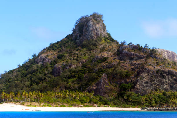 Die Insel Monuriki, Mamanuca Inseln, Fidschi – Foto