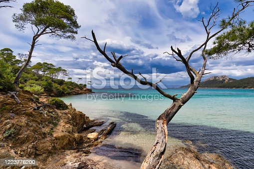 istock The island of Porquerolles in the Var, in Provence, on the Côte d'Azur 1223776200