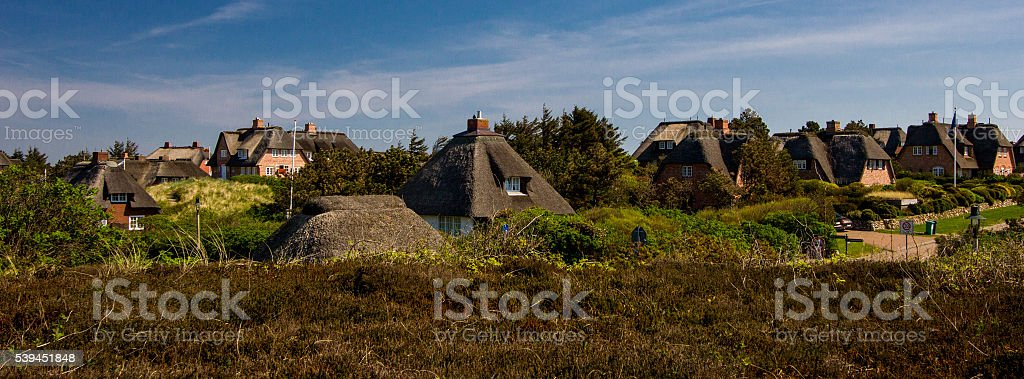 the island of Sylt!! stock photo