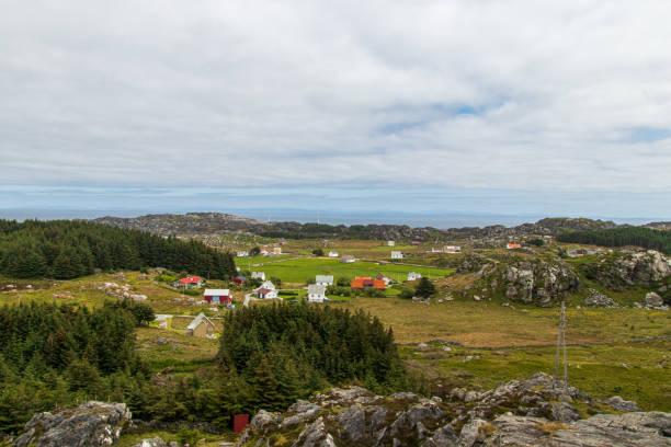 Die Insel Utsira in Norwegen. – Foto