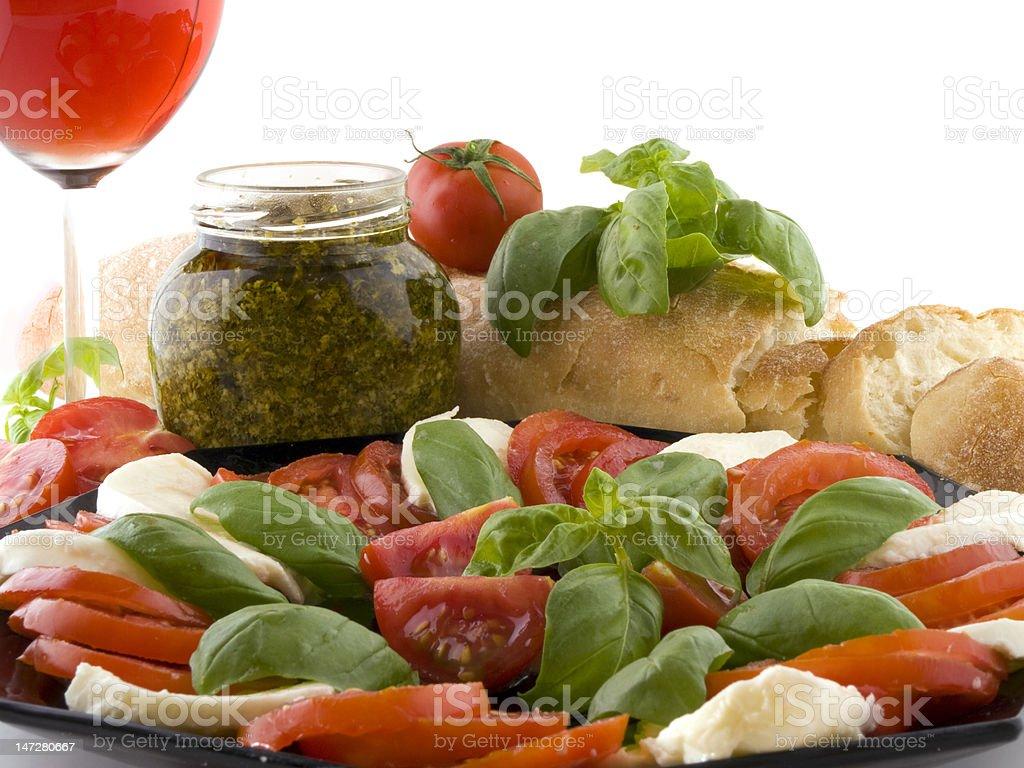 The italian party royalty-free stock photo