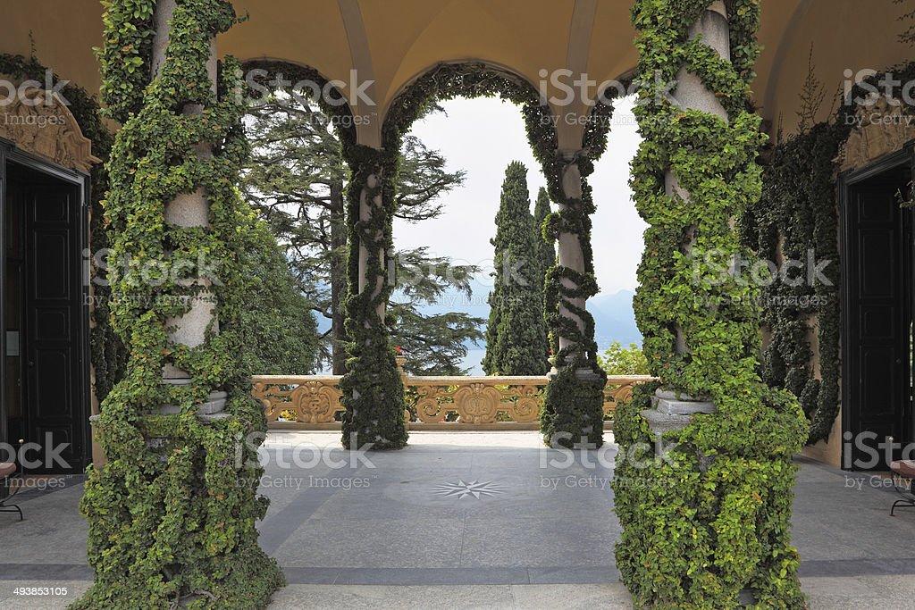 The Italian villa-museum Balbyanello stock photo