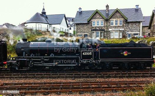 Mallaig, Highland, Scotland, UK - September 23, 2014:
