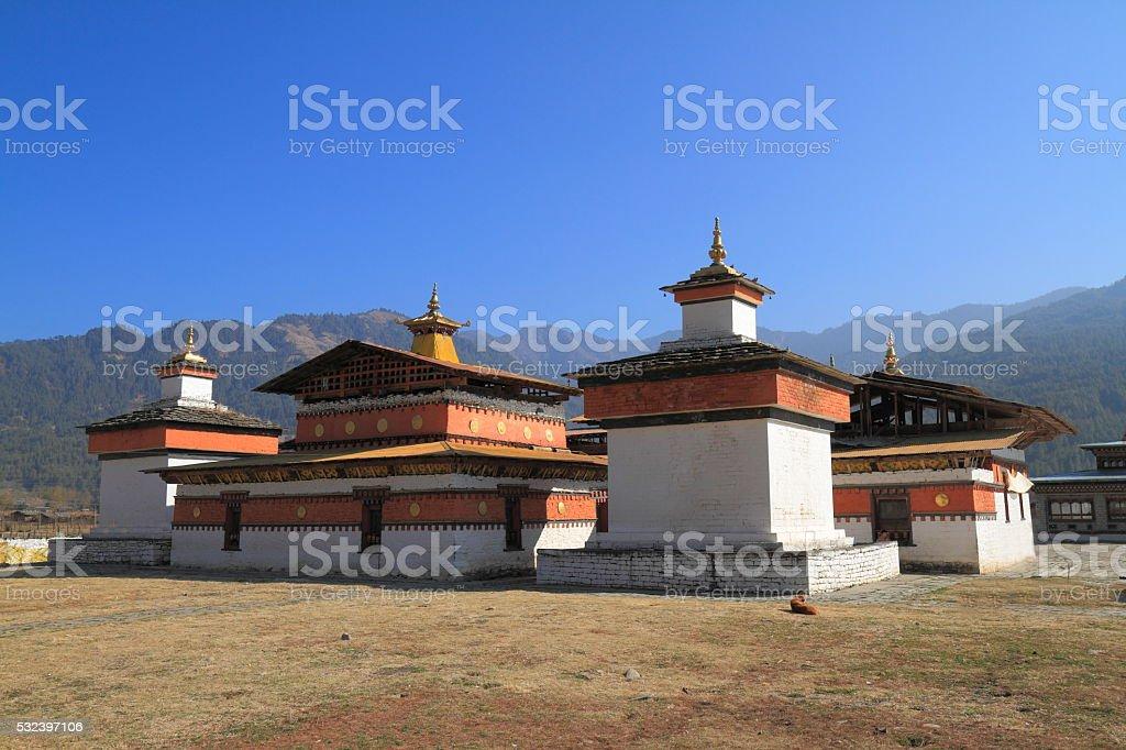 The Jambay Lhakhang stock photo
