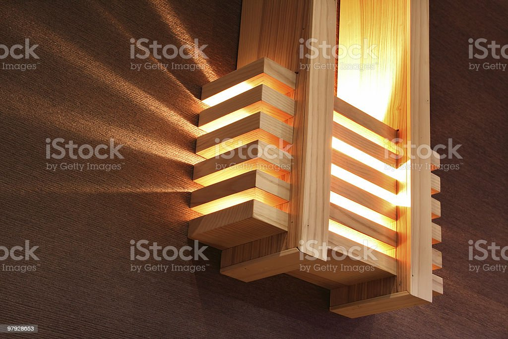 The Japanese lantern royalty-free stock photo