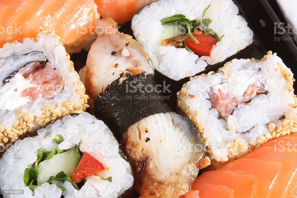 The Japanese meal royalty-free stock photo