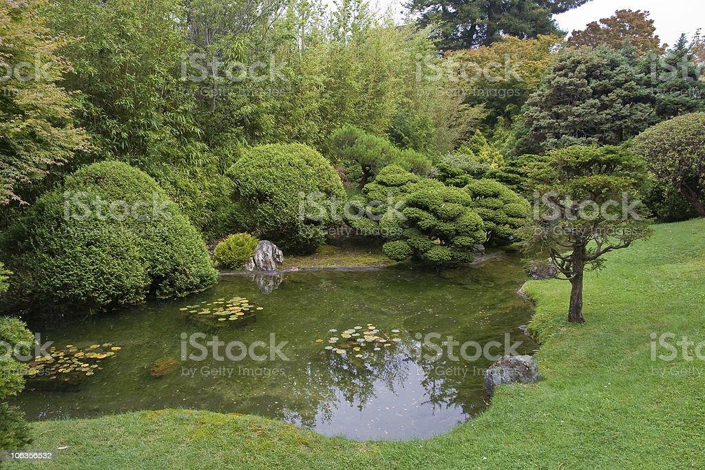 The Japanese Tea Garden royalty-free stock photo