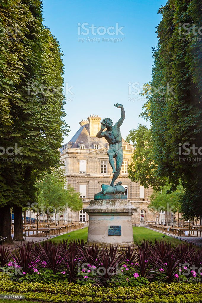le jardin du luxembourg paris royalty free stock photo - Le Jardin Du Luxembourg