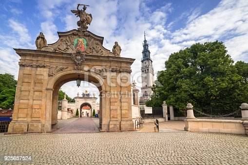 istock The Jasna Gora monastery in Czestochowa city 925657524