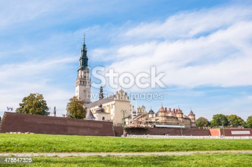 istock The Jasna Gora sanctuary in Czestochowa 478847325
