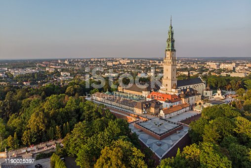 istock The Jasna Gora sanctuary in Czestochowa, Poland 1190025397