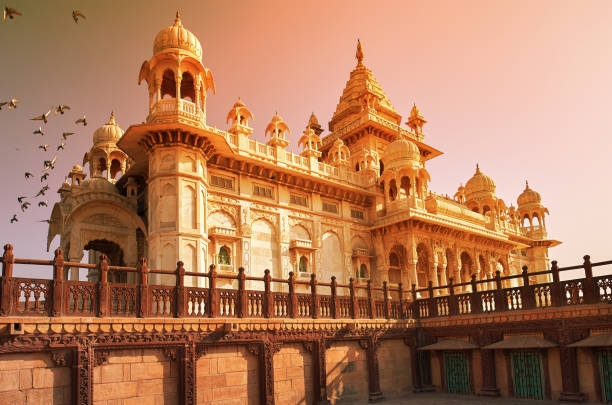 Cтоковое фото The Jaswant Thada is a cenotaph located in Jodhpur, in the India