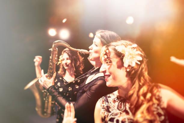 die jazz-event - stage musical stock-fotos und bilder