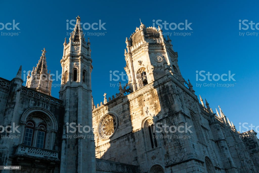 The Jeronimos Monastery in Lisbon, Portugal. - Royalty-free Beauty Stock Photo