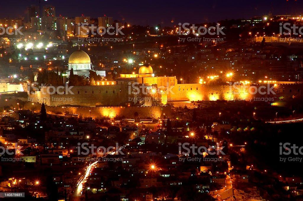 The Jerusalem royalty-free stock photo