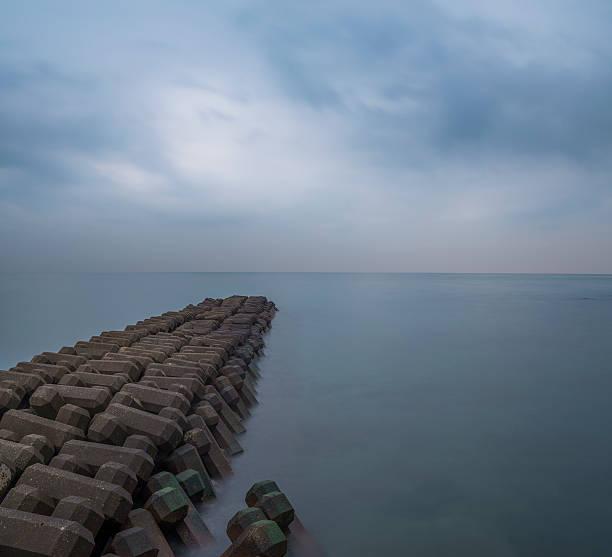 The jetty stock photo