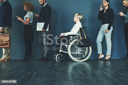 istock The job is open to all applicants 855443766