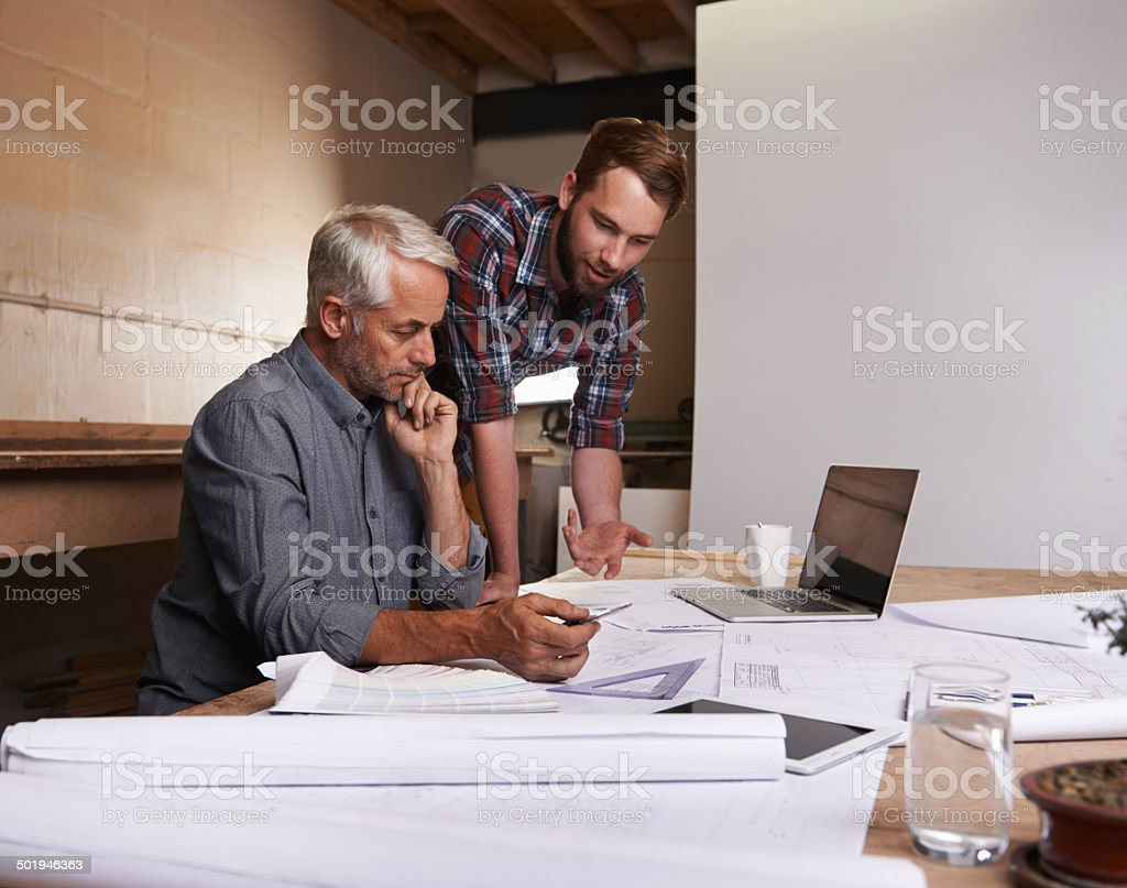 The job of a builder is never done stock photo