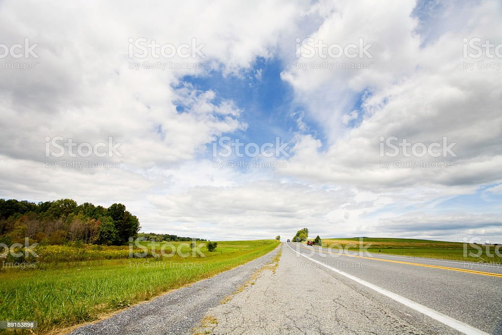 the journey ahead royalty-free stock photo