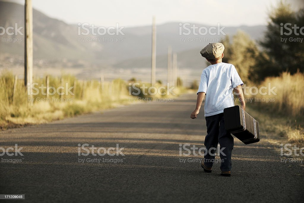 The Journey royalty-free stock photo