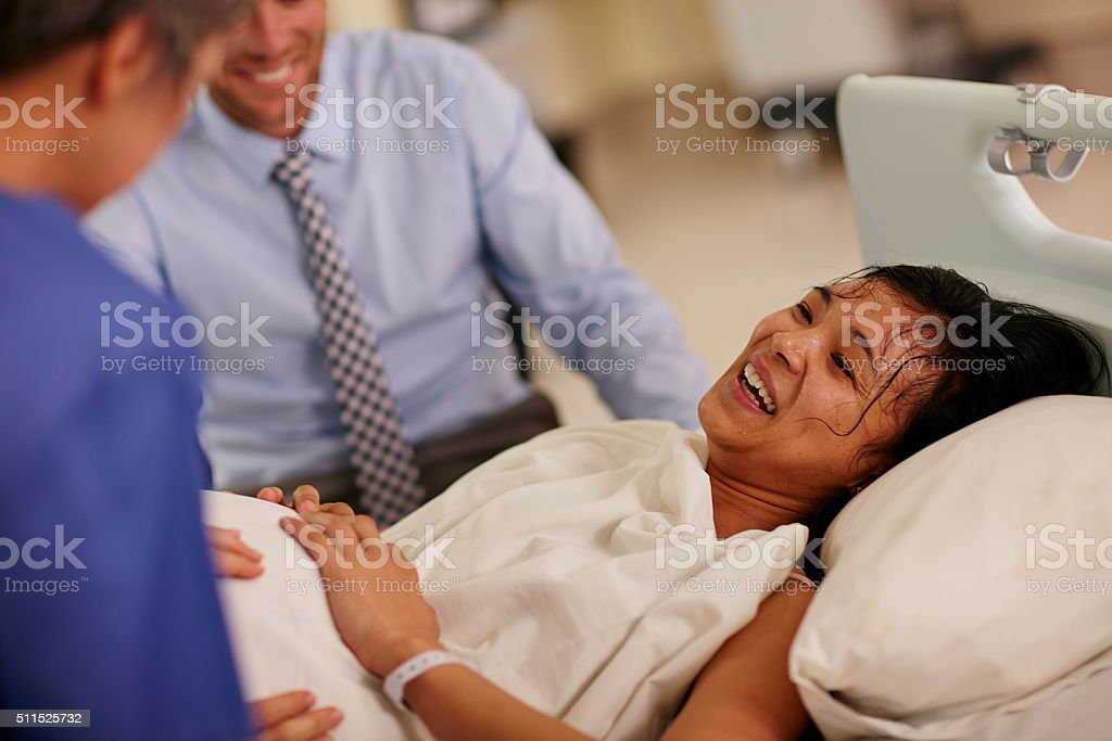 The joy of motherhood comes in moments stock photo