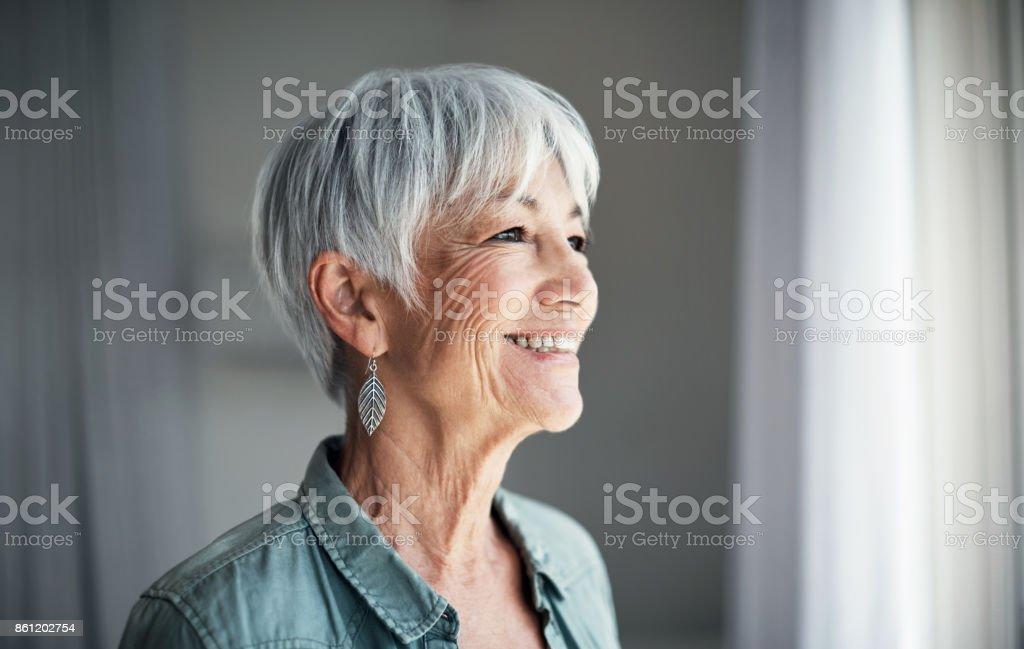 The joys of retirement stock photo