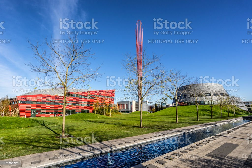 The Jubilee Campus in Nottingham stock photo