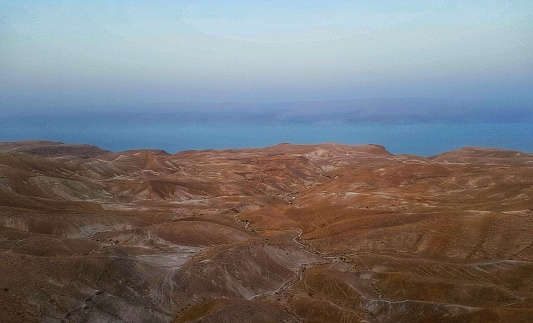 The magical Judaean Desert and Dead Sea in Israel