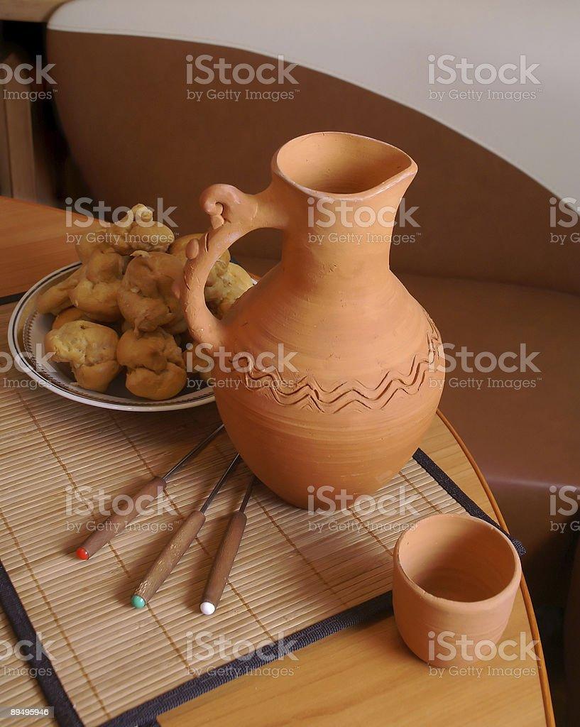 The jug royalty free stockfoto