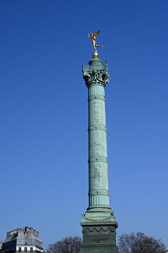 The July Column,, on the Place de la Bastille