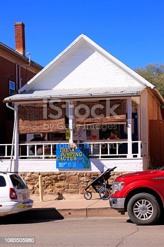 The Jumping Cactus Cafe on N Bullard Street in downtown Silver City NM