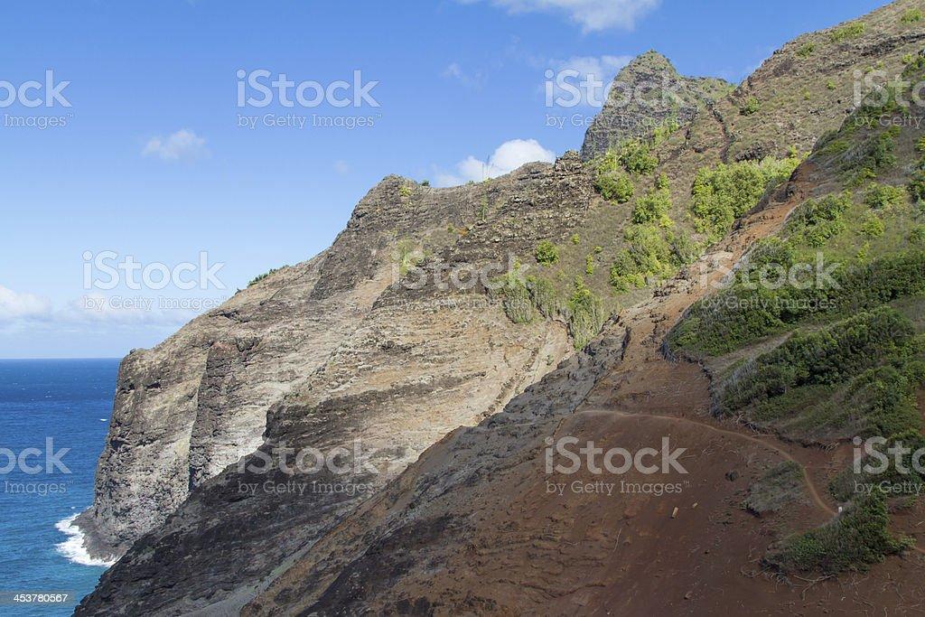 The Kalalau Hike stock photo