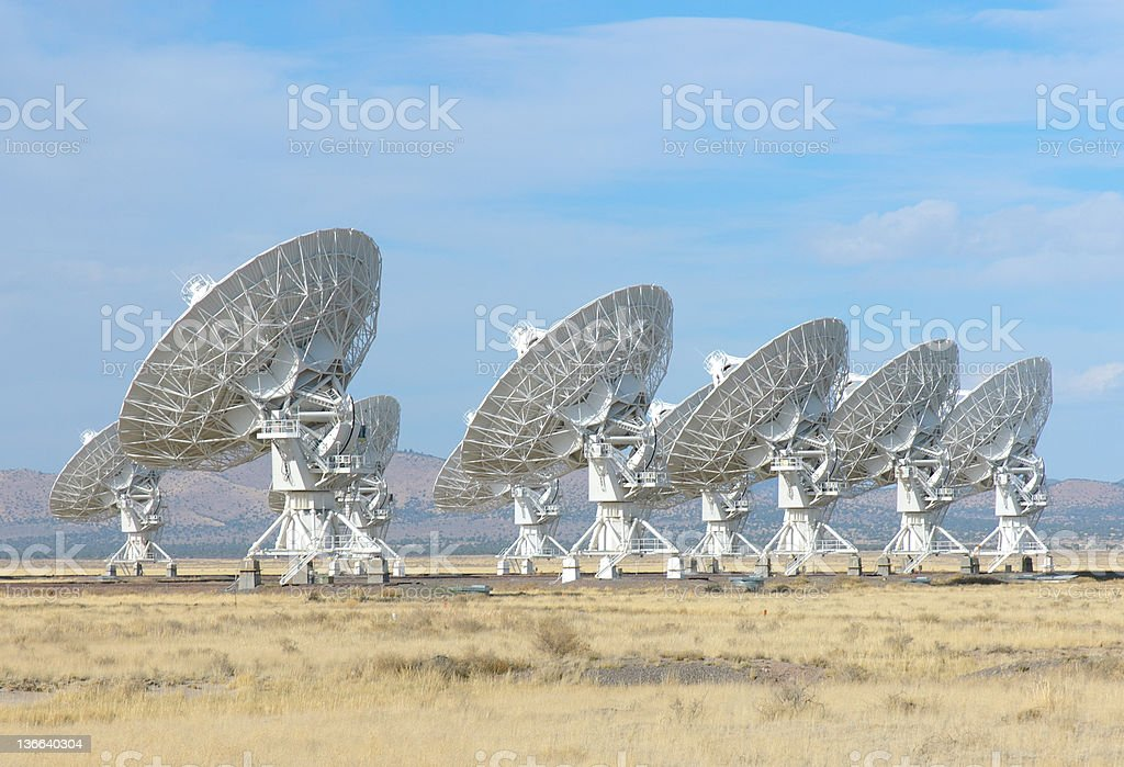 The Karl G. Jansky Very Large Array stock photo