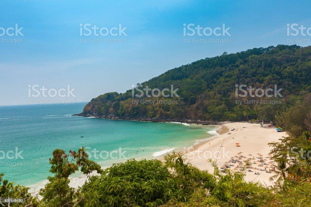 The Karon Beach, Phuket, Thailand stock photo