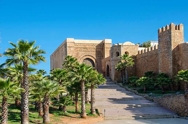 the kasbah of the udayas - rabat marocko bildbanksfoton och bilder