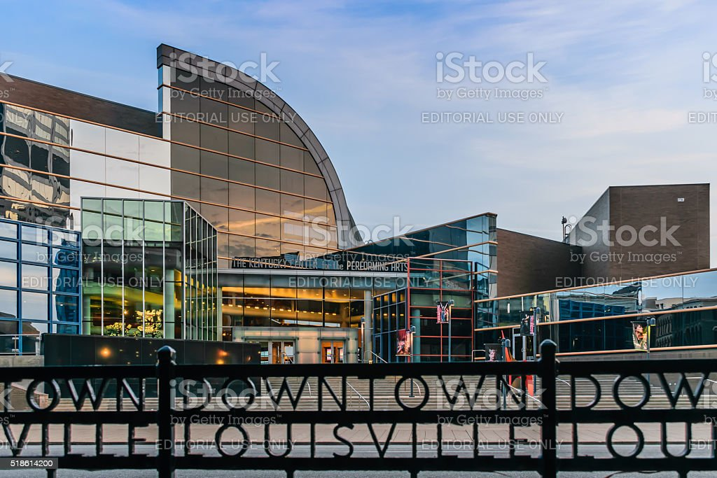 The Kentucky Center for the Performing Arts stock photo