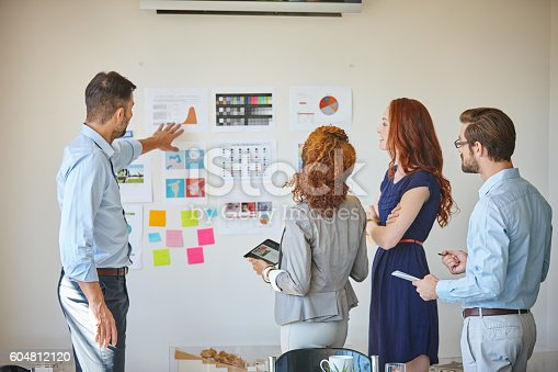 istock The key ingredients for success - teamwork and planning 604812120