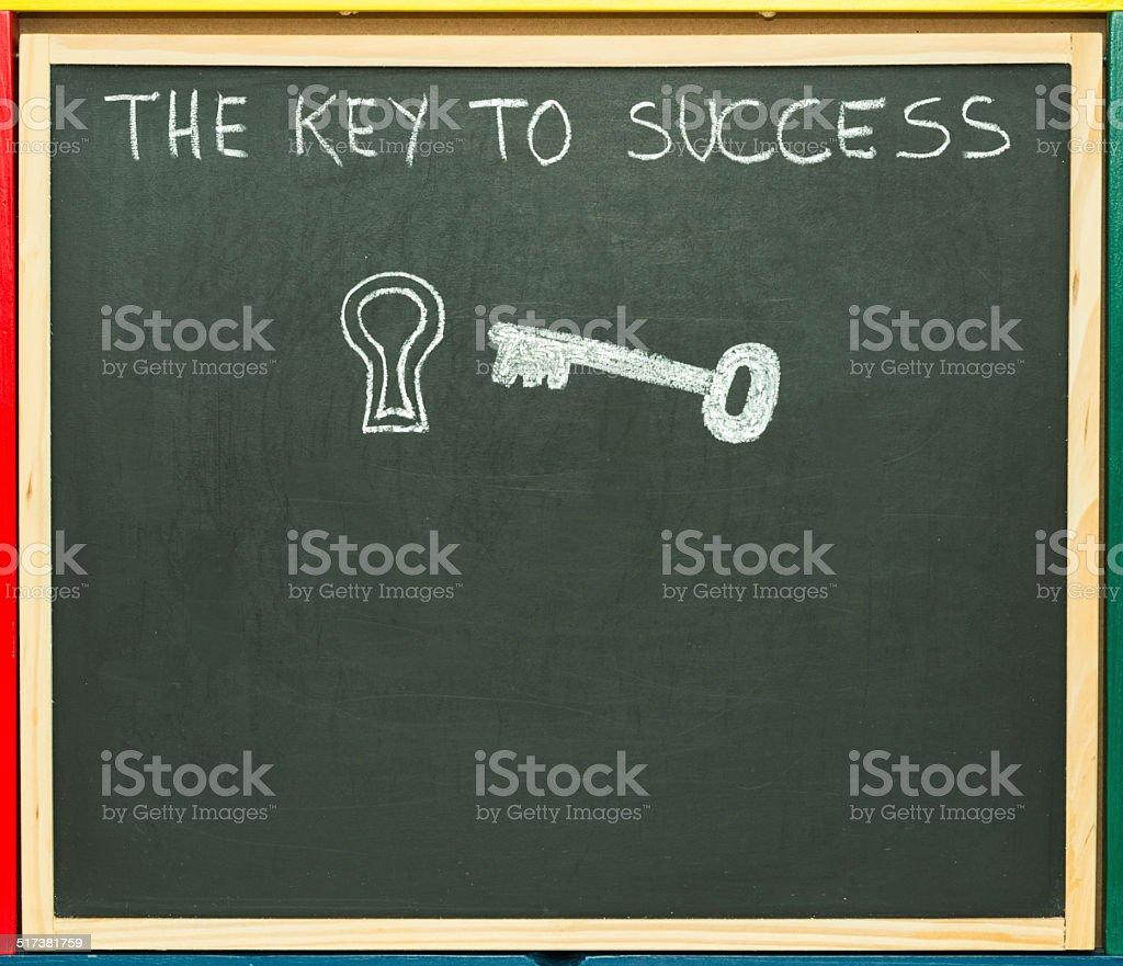The key. stock photo