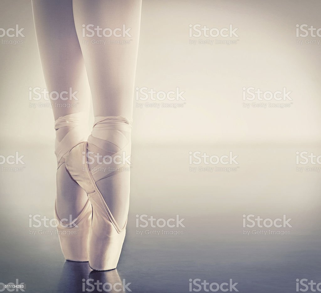 The key to ballet stock photo