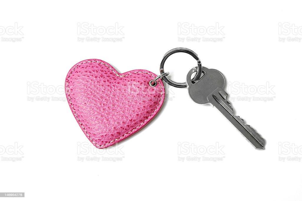 The key to my heart stock photo